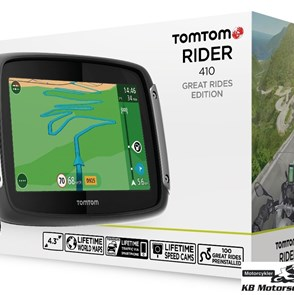 TomTom Rider 410 GPS World Map